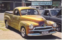 ....years ago :) my dad use to drive a truck just like this...he named it 'Ole' Johnny'!