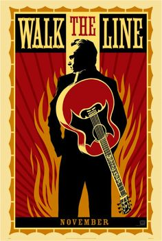 Walk the Line Hatch Show Print Movie Poster