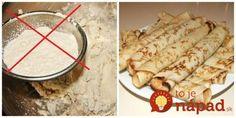 Nahraďte múku touto lacnou surovinou a nebudete sa stačiť diviť, čo sa stane s vaším telom a zdravím + Top recepty! Vegan Recipes, Paleo, Good Food, Food And Drink, Sweets, Bread, Cooking, Ethnic Recipes, Desserts