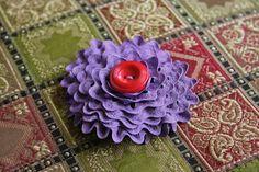 Ricrac flower