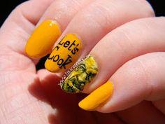 Manicura de Breaking Bad   Walter White nail art   Toxic Vanity