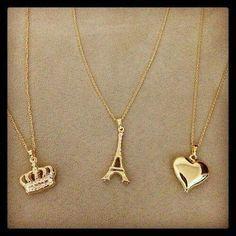 Jewels 💕 uploaded by Cupcakelover on We Heart It Stylish Jewelry, Cute Jewelry, Jewelry Accessories, Fashion Accessories, Jewelry Necklaces, Jewelry Design, Fashion Jewelry, Jewellery, Friend Jewelry