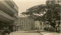 Edificio Colombia o de Avianca. Al fondo, el Hotel Alférez.