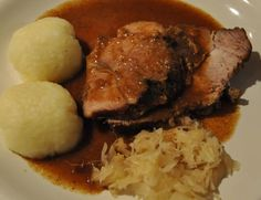 Authentic Schweinebraten German Pork Roast Bavarian Style (Authentic Schweinebraten) im trying for find a recipe close to my moms.but mom brazes hers instead of roasting it in the oven. this sounds pretty close tho Related posts: No related posts. Bavarian Recipes, German Recipes, Bavarian Food, Dutch Recipes, Pork Recipes, Cooking Recipes, Cooking Stuff, Cooking Time, Healthy Recipes