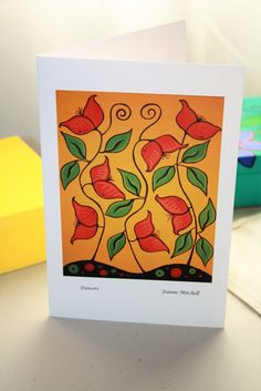 Quality Art Card - Dancers JM001