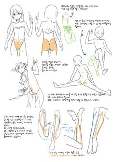 Muscles art tutorial even more action poses Figure Drawing Reference, Anatomy Reference, Art Reference Poses, Leg Reference, Tutorial Draw, Anatomy Tutorial, Drawing Female Body, Human Drawing, Drawing Legs
