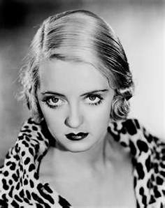 Those Bette Davis eyes. ..