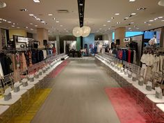 Active's Fashion Division brings sleek production to this in-store runway event! Fashion Events, Division, Runway, Table Decorations, Store, Home Decor, Cat Walk, Walkway, Decoration Home