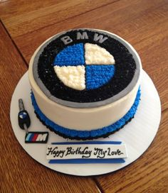 My boyfriends birthday cake.