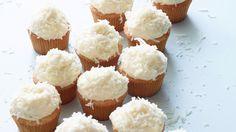 Fill with coconut cream?    Coconut Cupcakes Recipe : Ina Garten : Food Network - FoodNetwork.com