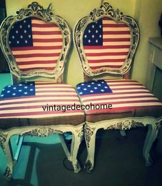 Vintage chair made by vinatgedecohome. ..