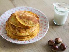 Pancakes au potiron et au lait ribot