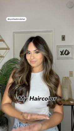 Brown Hair Balayage, Balayage Brunette, Brown Balyage, Brunette Color, Bridesmaid Hair Down, Bridesmaid Hairstyles, Prom Hair, Bride Hairstyles, Hair Color And Cut