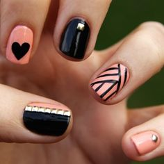 Check out these cute nails!!