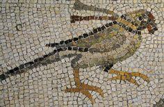 Parrot Mosaic - at Dumbarton Oaks
