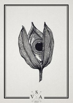 An eye inside a flower - black and white illustration / design Gravure Illustration, Illustration Art, Ink Illustrations, Photocollage, Desenho Tattoo, Wow Art, Psychedelic Art, Art Drawings Sketches, Surreal Art