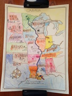 MInn of the Mississippi Map (picture only, can't find original source)