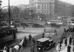 Traffic on Potsdamer Platz. Berlin (Germany), 1925
