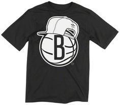 Brooklyn Nets adidas Originals Snapback Logo T-Shirt