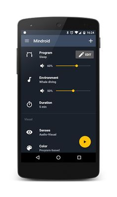 Mindroid v3.8 [Pro]   Mindroid v3.8 [Pro] Requirements:Varies with device Overview:Mindroid is an AVS (Auditory Visual Stimulation device - aka Mind Machine or Psychowalkman) app for Android.  Mindroid is an AVS (Auditory Visual Stimulation device - aka Mind Machine or Psychowalkman) app for Android.  NEW - Material design - Unlimited number of programs - Online program library - External glasses (USB connector) - Google Cardboard support  It provides each of your brain hemispheres with a…