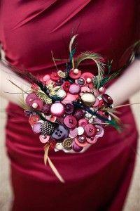 Another adorable button bouquet!!!