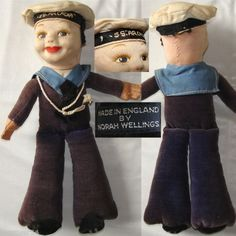 I wanted a Norah Wellings sailor doll. You could get them from the onboard shop on the BI or Union Castle liners on which we travelled to Mombasa.
