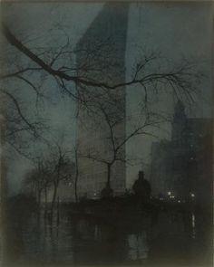 The Flatiron. Edward Steichen. 1904.