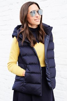 Check out our women's ultra light down vests in a variety of colors and sizes. These thin, light, warm vests are water-repellant and compact - order now. UNIQLO US. Winter 2017, Fall Winter, Professional Clothing, Down Vest, Downlights, Uniqlo, Simple Style, Must Haves