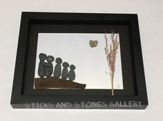 Pebble Art Family Gift Unique Family Gift Personalized