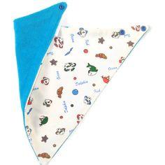 Reversibile bib / scarf / bandana bib  for cool kids by Engls
