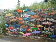 This would be fantastic in the flowerbed at the beach