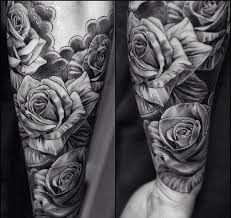 tattoos for men roses - Google Search