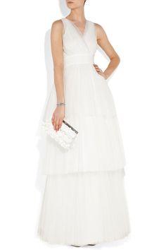 Amazing ball gown empire waist net home coming dress