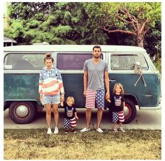 4th pic with the red vanagon