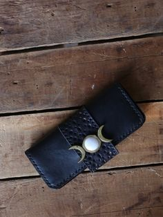 Moon Child Leather Wallet - Gypsy Warrior