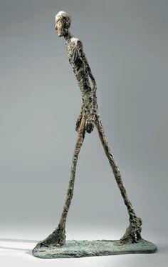 Alberto Giacometti, Homme qui marche I, Alberto Giacometti, A Level Art Themes, Tin Man, Ap Art, Sculpture, Art Object, Famous Artists, Dark Fantasy, Art And Architecture