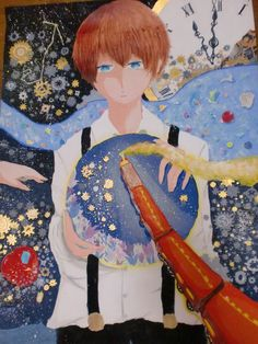 "Kenji Miyazawa ""Milky Way Train"" illustration"