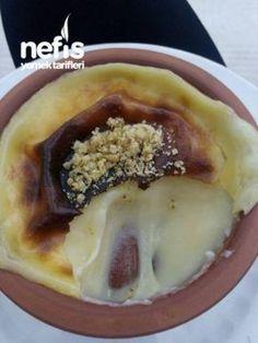 Turkish milk helva with vanilla and melted butter... Tam Kıvamlı Süt Helvası ( Restoran Lezzeti ) #dessert #sweet