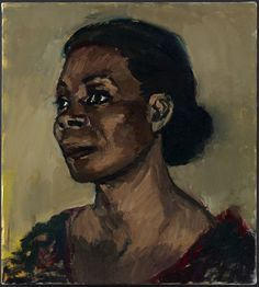 LYNETTE YIADOM-BOAKYE, The Cream And The Taste, 2013, oil on canvas, 19.7 x 17.7 inches, LYB13.031, Jack Shainman Gallery, NY