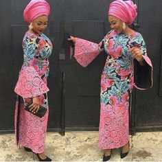 African women clothing / ankara iro and blouse/ African prints iro and blouse/ African fashion/ Afri African Fashion Designers, African Fashion Ankara, Latest African Fashion Dresses, African Print Dresses, African Print Fashion, Africa Fashion, African Dress, African Prints, African Attire