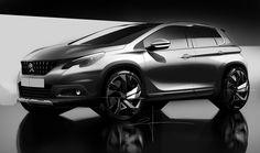 Peugeot 2008 2016 on Behance