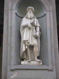 Leonardo Davinci, Florence, Italy