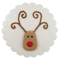 Zuckerdekor Weihnachts-Elch