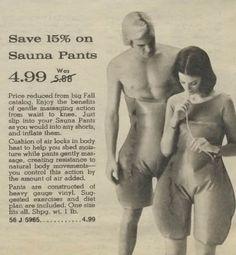 Sauna Pants!!!