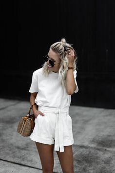 all white spring outfit