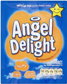 Angel Delight Butterscotch Flavor Dessert Mix 1 Pack >>> Details can be found by clicking on the image. Scotch, Throwback Day, Angel Delight, Iced Gems, Fruit Roll Ups, Butter, Pudding Desserts, Fresh Milk, Amigurumi