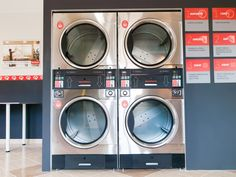 Coin Laundry, Laundry Shop, Self Service Laundry, Pula, Wash N Dry, Stacked Washer Dryer, Home Appliances, Queen, House Appliances