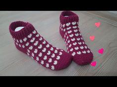 Kalpli Çorap Yapımı - YouTube