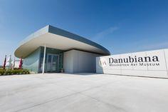 Danubiana museum in Bratislava Cambridge School, Bratislava Slovakia, Art Museum, Exploring, Architecture, World, Building, Outdoor Decor, Travel