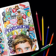 Love This Fanart of Joe Sugg!❤ It's Amazing Don't Know who drew it but I love it.